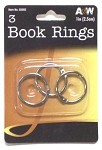 A&W 3pc. Book Rings