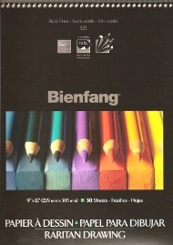 Bienfang Spiral Bound Raritan Heavyweight Drawing Pads