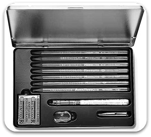 Creatacolor Monolith Graphite Pencil Set