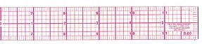 C-Thru Standard Beveled Rulers
