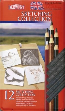 Derwent 12 Piece Sketching Collection Set