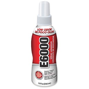 Eclectric E6000 Eco Friendly Spray Adhesive 8 ounce