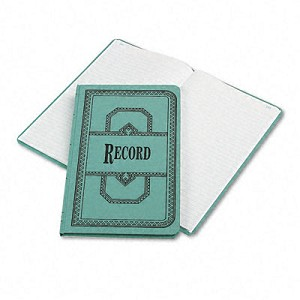 Boorum and Pease Record/Account Book w/Record Rule Series 66