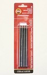 Koh-I-Noor 4 Pack Woodless Graphite Pencils