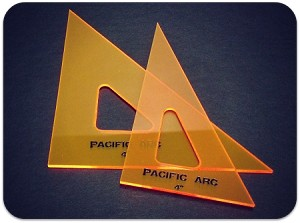 Pacific Arc Fluorescent Triangles