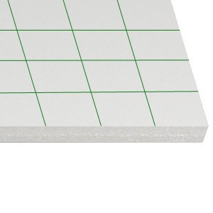 Crowne Peel-N-Stick Foam Board 24x36x3/16 -25 Sheets