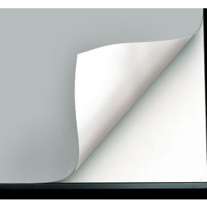 Vyco Gray/White Board Cover 31inx10yd Roll