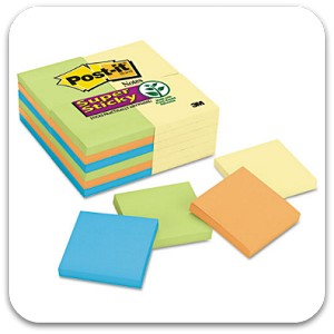 Post-It Notes 3x3 Office Pack of 24