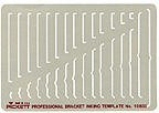 Pickett 1083i Bracket Template