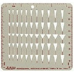 Pickett 1084i Arrowhead Template