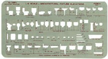 Pickett 109Pi Architectural Fixture Elevations Template