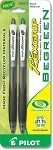 Pilot Rexgrip BeGreen Ball Point Pens 2-Pack