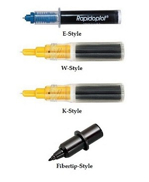 Koh-I-Noor Rapidoplot Archival DPP Disposable Plotter Pens