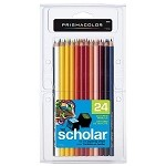 Prismacolor Scholar 24 Colored Pencils Set
