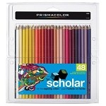 Prismacolor Scholar 48 Colored Pencils Set