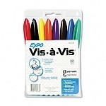 Expo Vis-a-Vis Wet Erase Overhead Projection Markers