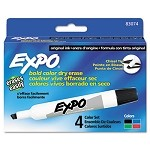 Sanford  Expo Chisel Tip 4 Color Set