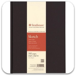Strathmore Hard Bound Sketch Books