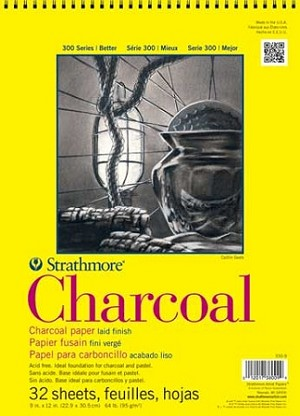 Strathmore Charcoal Paper Pads