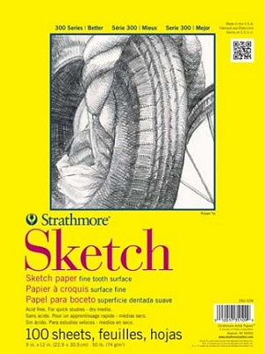 Strathmore 9x12 Sketch Pad