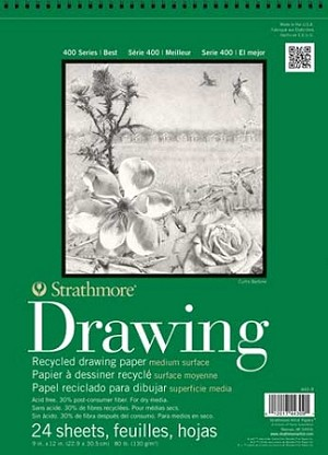 Strathmore Recycled Drawing Paper Pads