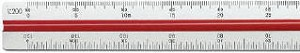 Staedtler Metric Architectural Triangular Scale