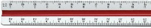 Staedtler 9871834 Engineer Triangular Scale