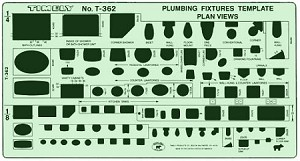 Timely Plumbing Fixtures Plan Views Template