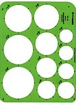Pickett 1201i Circles Template