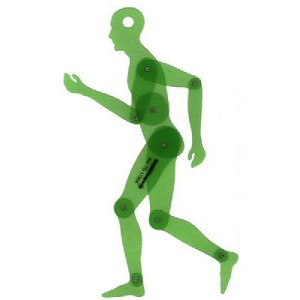 Template Designs TD1735A Human Figure 13.75 Inch Template