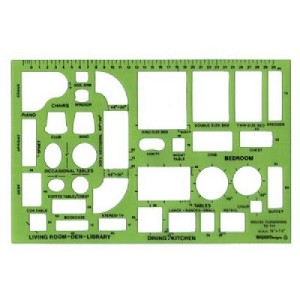 Template Designs TD714 House Furnishings Template