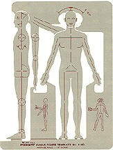 Pickett 1140i Male Human Figure Template