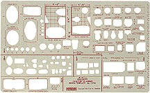Pickett 1170i Lavatory Planning Template