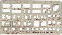 Pickett 1190i Lavatory Planning Template