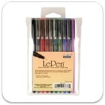 Marvy Uchida Dark LePen Set of 10