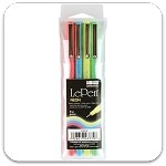 Marvy Uchida Neon LePen Set of 4
