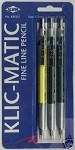 Klick-Matic Fine Line Pencil Set KM357