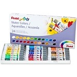 Pentel Arts® Water Colors set of 24