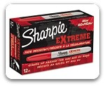 Sharpie Extreme Fade Resistant Fine Point Red Markers
