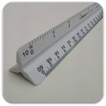 Staedtler 9871934 Engineer Triangular Scale