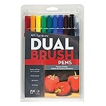 Tombow Dual Brush Pens, Primary Color Set