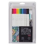 Tombow Irojten Vivid Color Pencil Set  12
