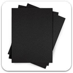Ultra Board Black Foam Core Boards 27x40x3/16 - 24 Sheets