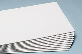Nielsen Bainbridge Standard White Foam Board 48x96x1/2 -12 Sheets