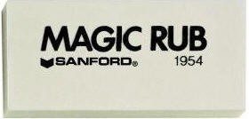 Sanford Magic Rub Eraser